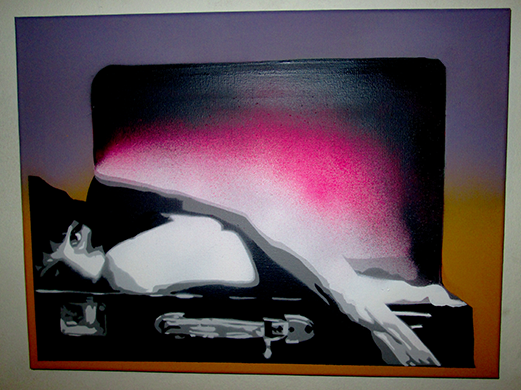Girl In Suitcase