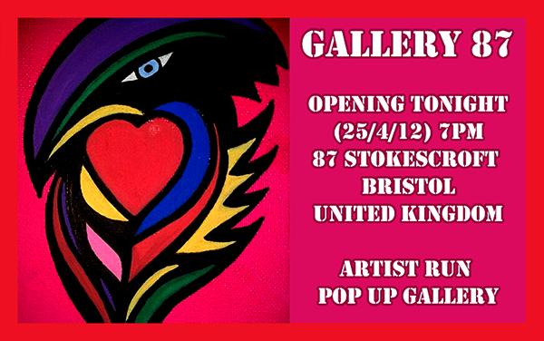 Gallery 87 Stoke Croft Bristol